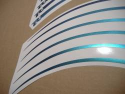 Suzuki GSXR custom chameleon wheel rim stripes lines set