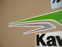 Kawasaki ZX-6R 636 2013 green replacement decal set