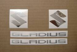 Suzuki Gladius SFV 650 2011 reproduction stickers set