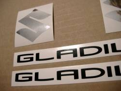 Suzuki Gladius SFV650 2013 L3 grey reproduction decals