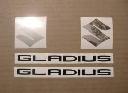 Stickers for Suzuki Gladius SFV650 2013 L3 grey version