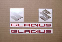 Suzuki Gladius SFV650 2012 L2 grey complete decal set