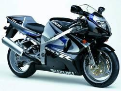 Suzuki GSX-R 750 2000 black decals kit