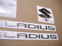 Stickers for Suzuki Gladius SFV 650 2013 L3 silver model
