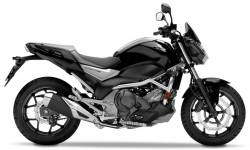 Honda NC750S 2016-2017 aftermarket sticker set