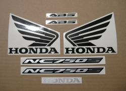 Decals set for Honda NC 750 S 2018 red version