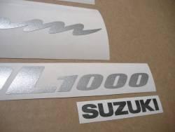 Stickers set for Suzuki DL1000 V-Strom K4 black version