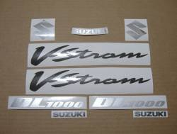 Decals for Suzuki DL1000 VStrom 2006 K6 grey model