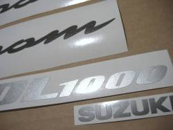 Suzuki DL 1000 V-Strom 2006 replacement decals set