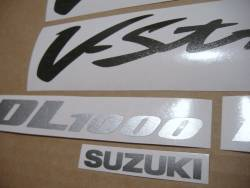 Stickers for Suzuki V-Strom DL 1000 2005 grey version