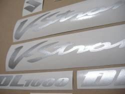 Suzuki V-Strom 1000 2005 K5 complete decals set