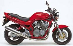Adhesives for Suzuki Bandit GSF N600 1995 red naked model