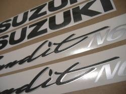 Graphics set for Suzuki Bandit GSF N600 1995 red naked model