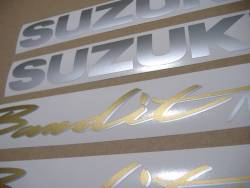 Suzuki Bandit GSF 600N 1997-1998 replacement graphics
