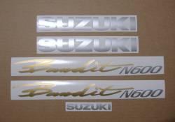 Suzuki Bandit GSF 600N 1997-1998 replacement stickers