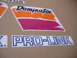 Graphics for Honda Dominator NX650 1991 white model