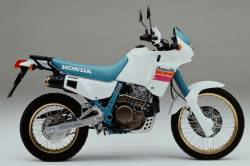 Stickers for Honda Dominator NX650 1991 white model