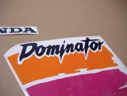Decal kit for Honda Dominator NX650 1991 white version
