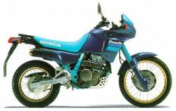 Honda Dominator NX 650 1991 blue/green replacement stickers