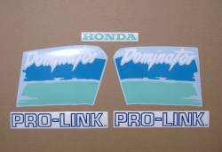 Honda Dominator NX 650 1991 blue/green replacement decals