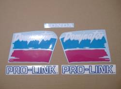 Decals for Honda Dominator NX 650 1990 blue version