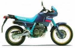 Honda Dominator NX 650 1990 full aftermarket graphics set