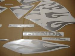 Honda CBR 600rr 2005 tribal reverse decals set