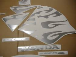 Honda CBR 600rr 2005 tribal reverse graphics kit
