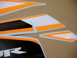 Graphics for Honda CBR 125R 2011 orange/silver model