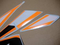 Decals for Honda CBR 125R 2011 orange/silver version