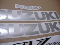 Stickers for Suzuki SV 650 S K2 blue half-fairing model