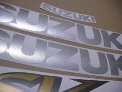 Stickers for Suzuki SV 650S K2 black half-fairing version
