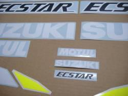 Motogp decals for Suzuki GSXR 1000 with GSXRR Ecstar logos