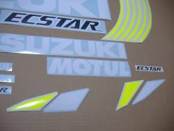 Motogp stickers for Suzuki GSXR 1000 with GSXRR Ecstar logos
