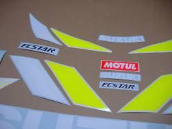 MotoGP Ecstar team stickers for Suzuki GSXR 750 srad