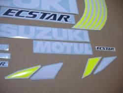Suzuki GSXRR MotoGP Ecstar stickers set for GSXR 750