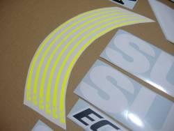 Suzuki GSXR 750 MotoGP ecstar racing team wheel stripes
