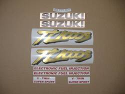 Decals for Suzuki TL 1000S '98 green model version