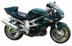 Adhesives for Suzuki TL 1000S '98 green model version