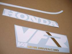 Honda VFR 750f '89 red version replica decals