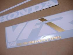 Honda VFR 750f '88-'89 red restoration adhesives