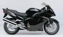 Graphics for Honda CBR 1100 XX 2002 black model