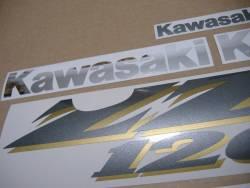 Kawasaki ZZR 1200 2004 complete replica decals set