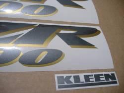 Kawasaki ZZR 1200 2004 complete replica stickers set