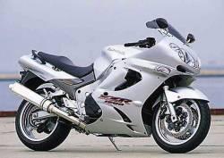 Kawasaki ZZR 1200 2003 full reproduction decals set