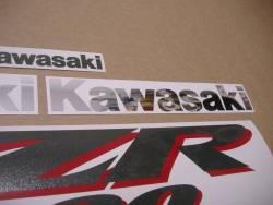 Kawasaki ZZR 1200 2003 full reproduction adhesives