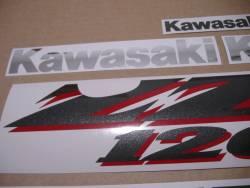 Kawasaki ZZR 1200 2003-2004 aftermarket sticker set