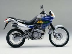 Honda Dominator 1997 blue full reproduction sticker set