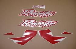 Honda Dominator NX650 1999 reproduction sticker set