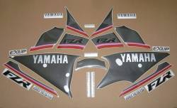 Decals for Yamaha FZR 1000 Exup 1991 3LE black model